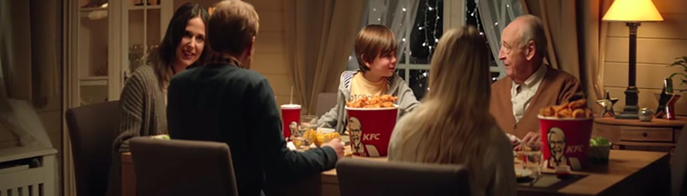 Bandeau KFC Noel