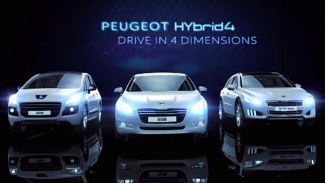 Peugeot Hybrid 4